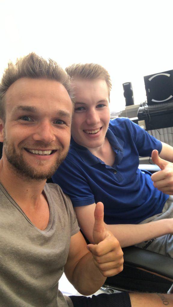 Daniel Johannesen & Micky Weis
