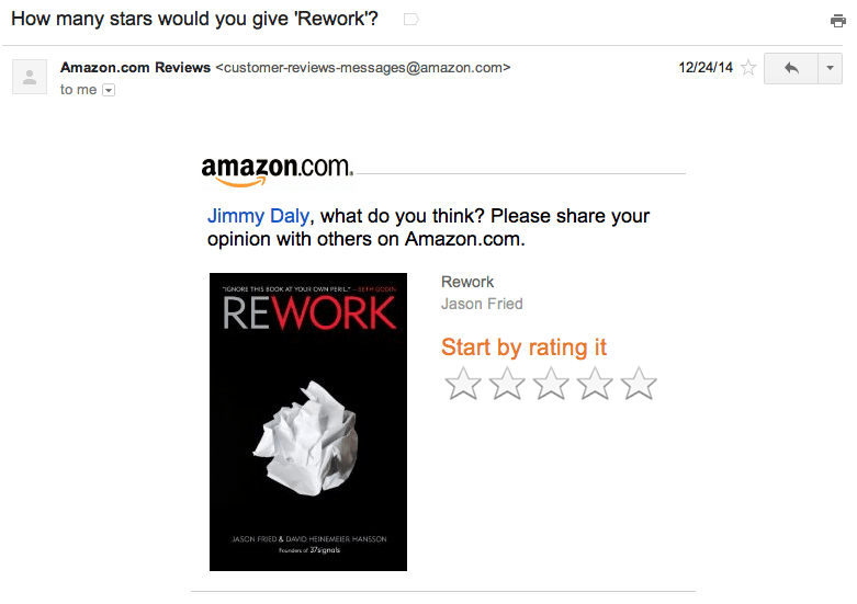 Amazon-review-email