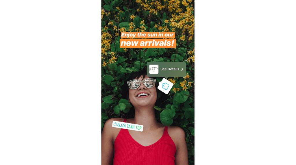 Instagram Shopping på IG Story
