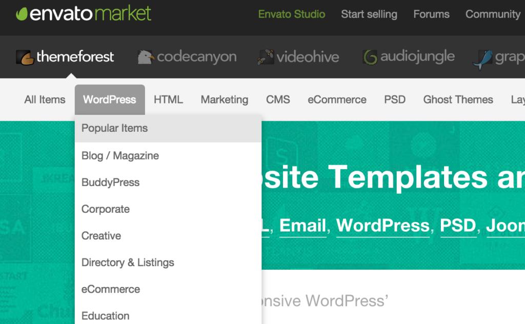 ThemeForest WordPress
