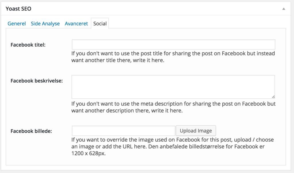 Yoast SEO Social WordPress Plugin