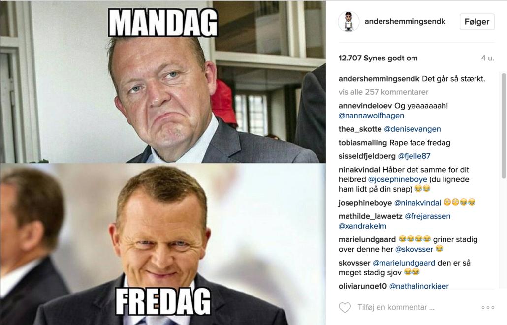 Anders Hemmingsen Instagram