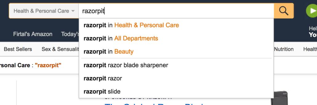 Amazon Søgeord