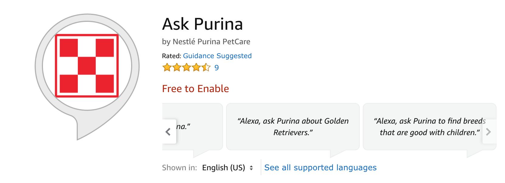 Ask Purina