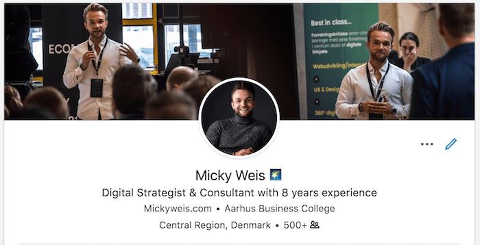 Micky Weis LinkedIn