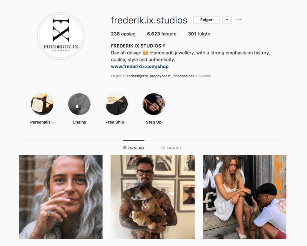 Frederik IX Studios Instagram