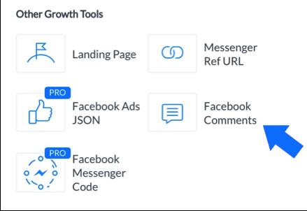 Messenger Bot Facebook Kommentarer