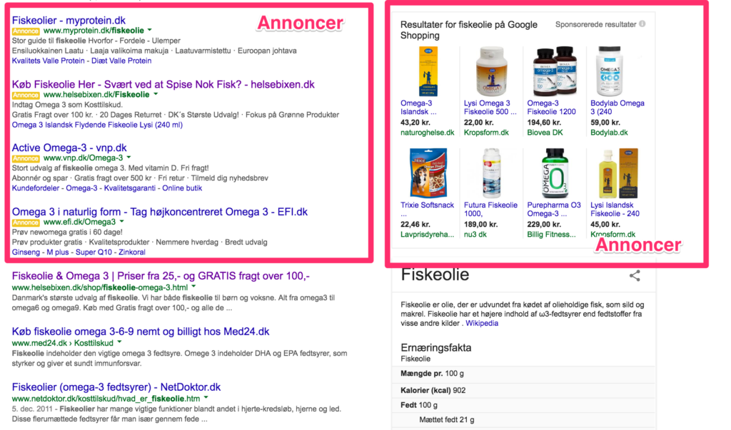 Google Ads Annonce