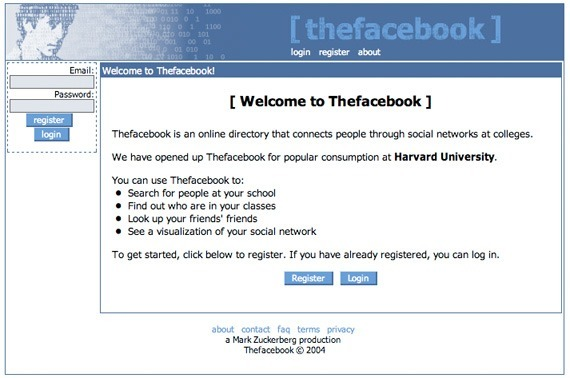 thefacebook-first-website1